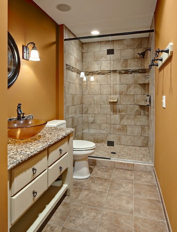 Creative ideas for modern bathrooms budget designs on Modern Small Bathroom  id=41301