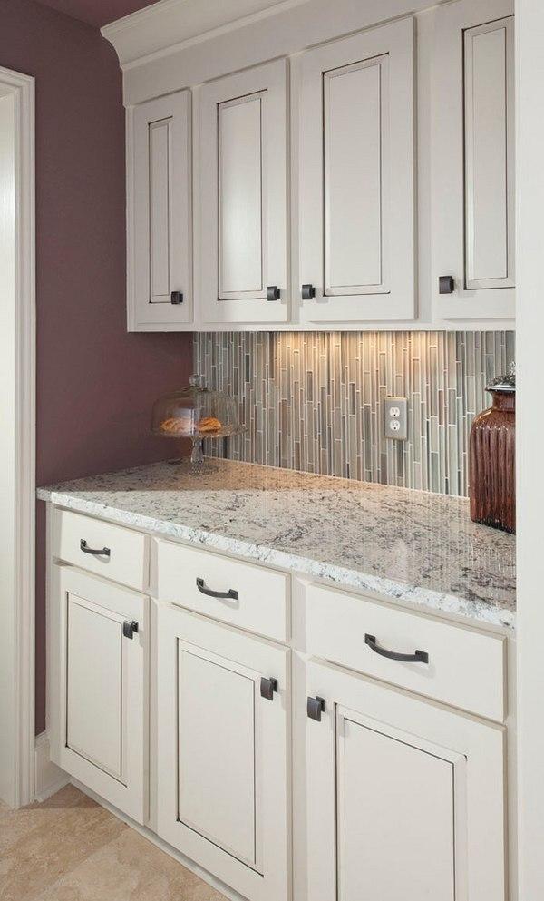 White ice granite countertops for a fantastic kitchen decor on Backsplash Ideas With Granite Countertops  id=86638