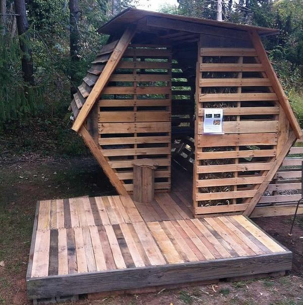Pallet house plans and ideas - give new life to old wooden ... on Pallet Design  id=96825