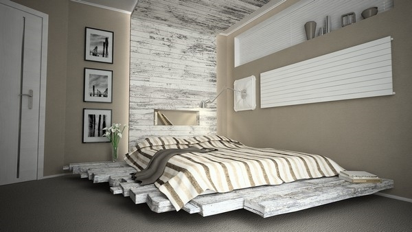 Creative and easy pallet furniture plans - DIY furniture ideas on Pallet Bedroom  id=13212