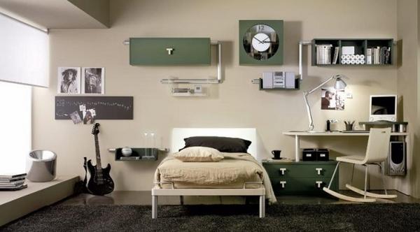 20 Modern teen boy room ideas - useful tips for furniture ... on Beige Teen Bedroom  id=51859