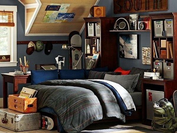 20 Modern teen boy room ideas - useful tips for furniture ... on Teenage Bedroom Ideas Boy  id=45498