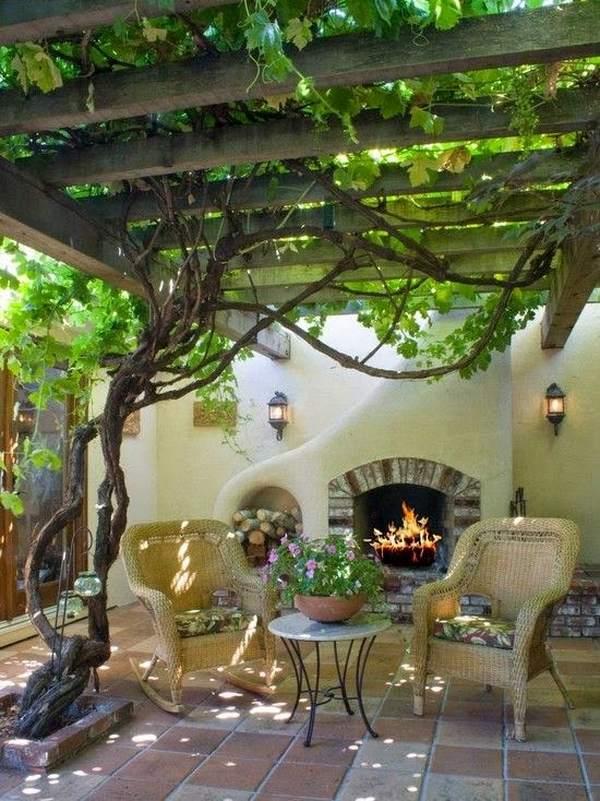 30 fascinating grape arbor ideas - the perfect patio decor on Vine Decor Ideas  id=37588