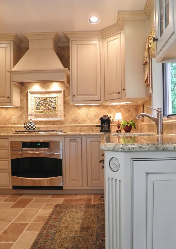 Yellow river granite countertops - a unique feature in ... on Backsplash Ideas For White Cabinets And Granite Countertops  id=24055