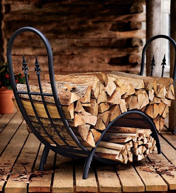 How to choose the perfect indoor firewood holder - tips ... on Iron Stand Ideas  id=51619