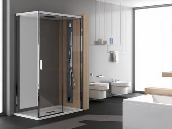 Modernas ideas de la ducha de vidrio de ducha de vidrio diseño de la cabina