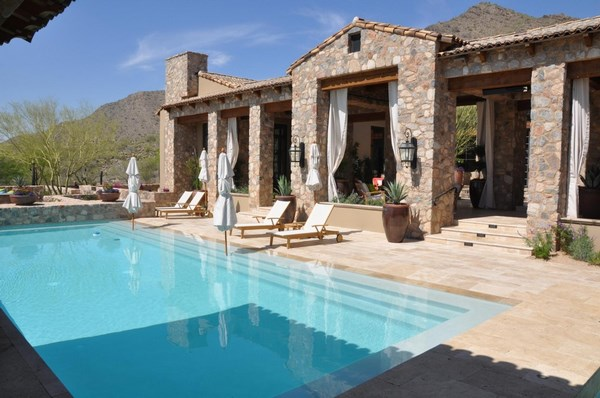 Travertine pavers for patio and driveways - the ideal ... on Travertine Patio Ideas id=12611