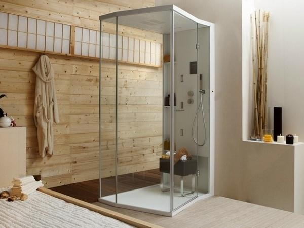 ideas cuarto de bao rstico de ducha de vidrio ideas de la ducha cabina de