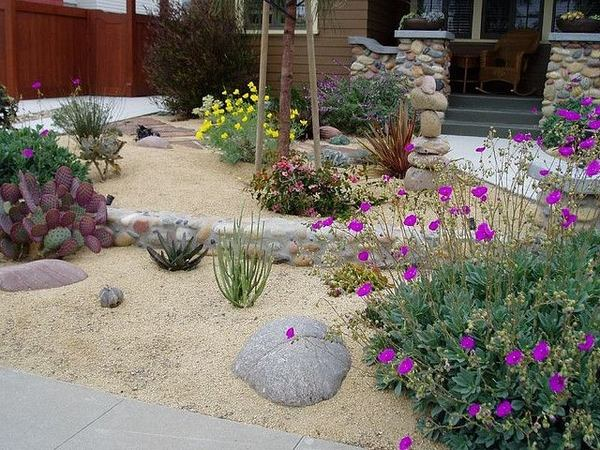 Decomposed granite - garden decoration and landscaping ... on Decomposed Granite Backyard Ideas id=43607