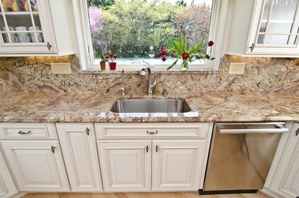 Typhoon Bordeaux granite countertops - best kitchen ... on Typhoon Bordeaux Granite Backsplash Ideas  id=43091
