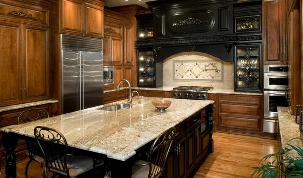 Typhoon Bordeaux granite countertops - best kitchen ... on Typhoon Bordeaux Granite Backsplash Ideas  id=86747