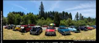 Classic Mini At Nevada City Adventure