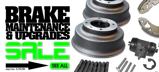 Brake Maintenance & Upgrades Sale!