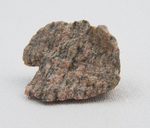 Gneiss showing color bands