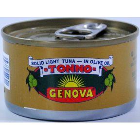 Genova Tonno solid light tuna in olive oil for all your