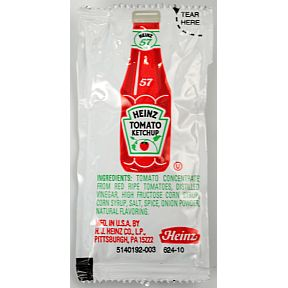 KETCHUP PACKETS ARE SO 1900'S!