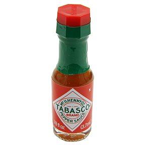 Tabasco Brand Pepper Sauce Bottle Travel Size