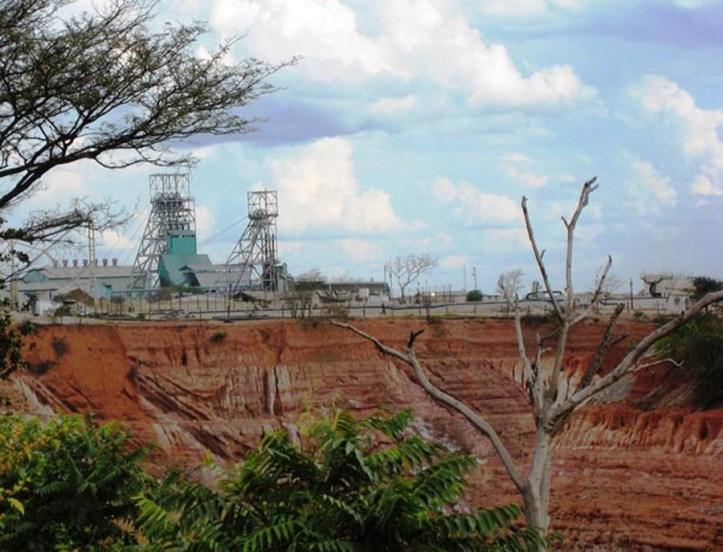 Zambia, Africa, Landscape, Copper, Mine, Nkana pit, Headgear, Glencore Mopani complex, 900, Admin