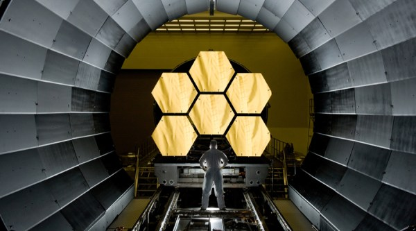 NASA unveils gold-covered telescope that will put the ...