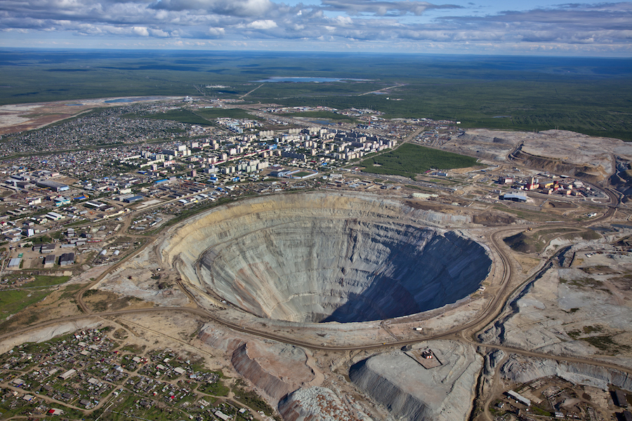 These were the top producing diamond mines in 2016
