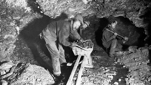Image result for sinking a gold mining shaft 1920s