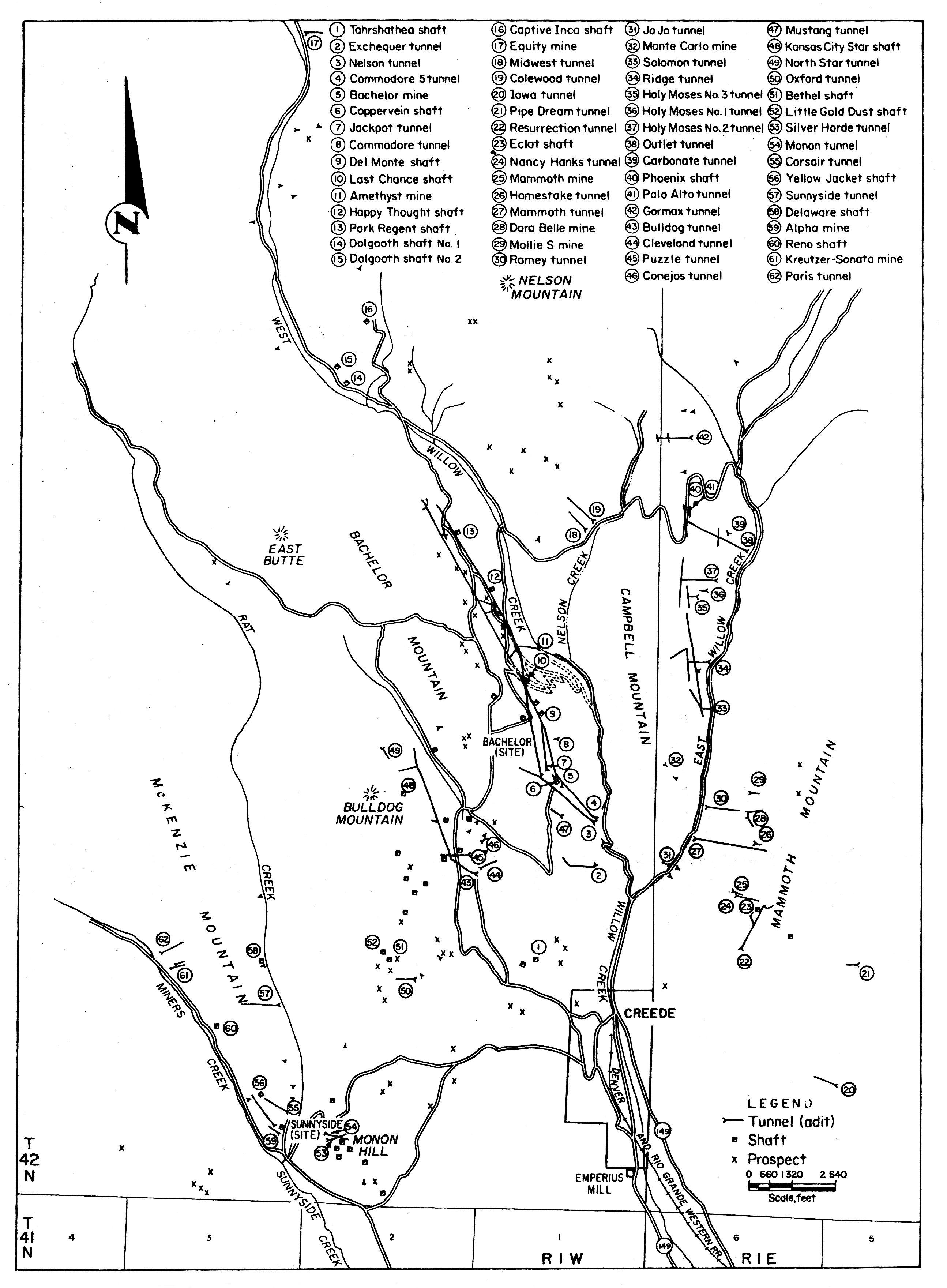 Map South Er