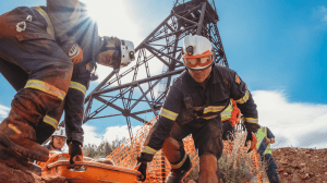 CME Mines rescue competition Hannans mine