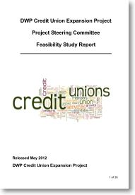 Expanding credit unions - A DWP report