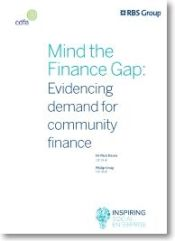 Falling between the finance cracks - a social solution
