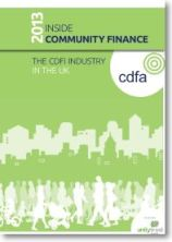CDFI 2013 Report cover image
