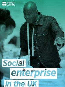 Social Enterprise in the UK - British Council - cover image and web link