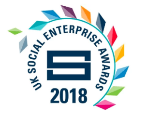 UK Social Enterprise Awards 2018 - image and web link
