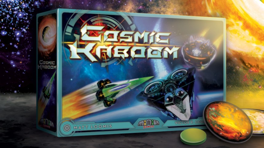 Image result for Cosmic Kaboom Board Game
