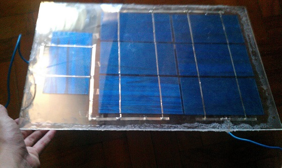 My Homemade Solar Panel