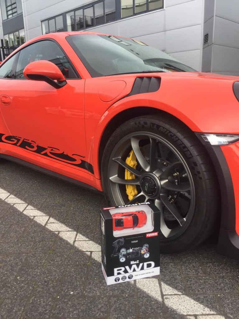 Porsche 911 GT3 RC Racecar