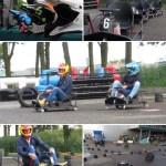 Pop up Kartbaan Crazy Karts