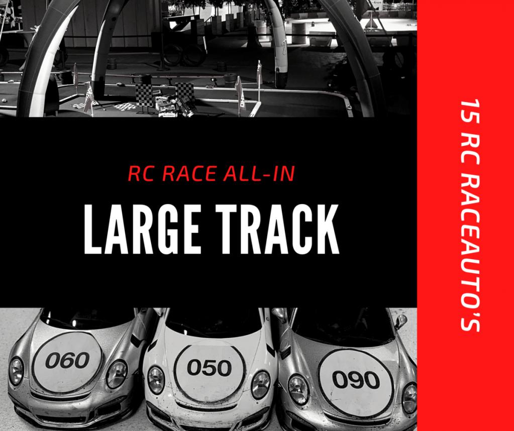 Racebaan Large track huren
