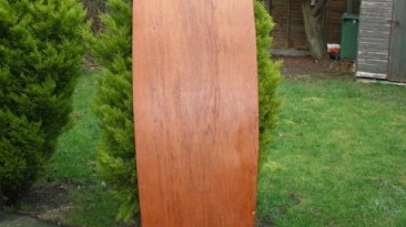 "5'0"" Hollow Plywood Mini Simmons No Glass"