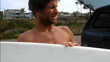 "Joel Tudor on a 5'11"" Kookbox"