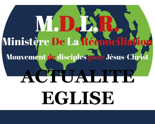 LES AUDIOS DES CULTES DE PRIÈRE DISPONIBLES – ACTUALITÉ EGLISE – MINISTÈRE DE LA RÉCONCILIATION