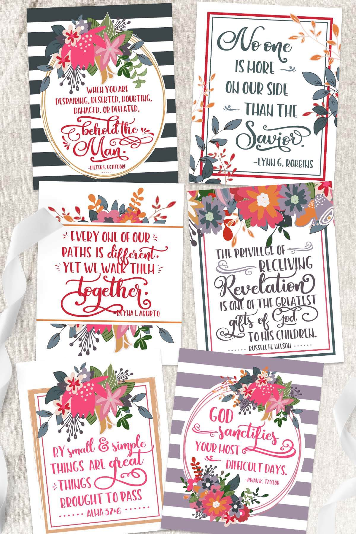 April General Conference Free Quote Printables