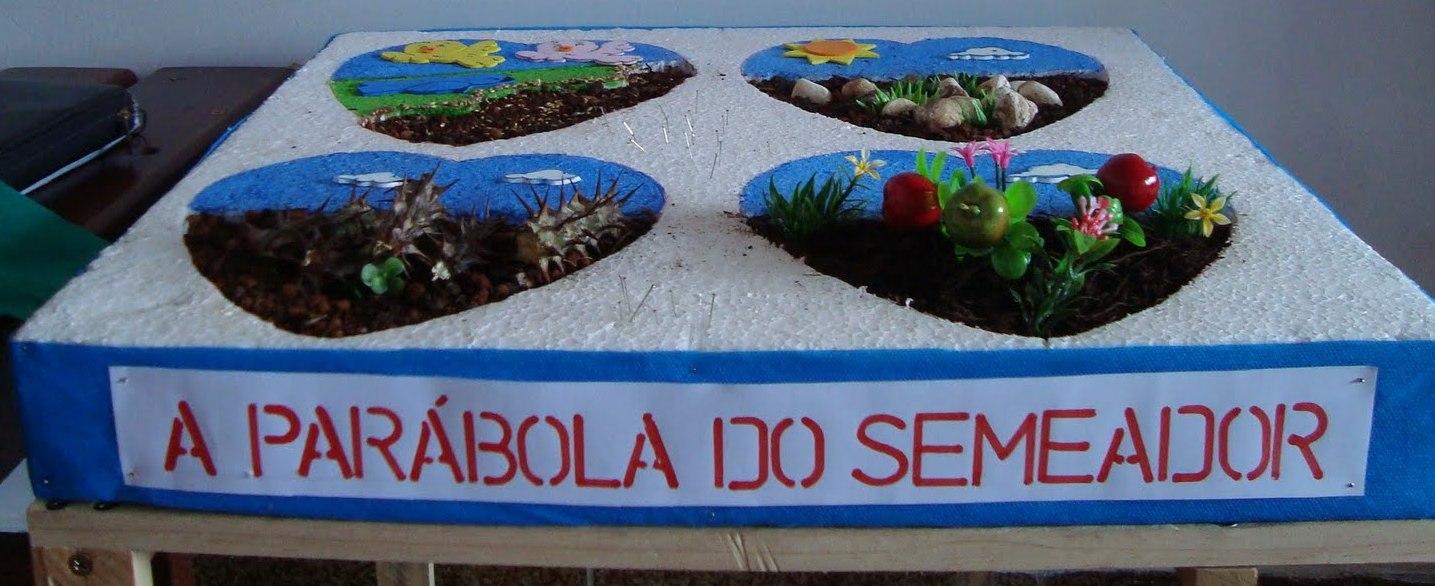MANUALIDADES: la parábola del sembrador   MINISTERIO INFANTIL ARCOIRIS