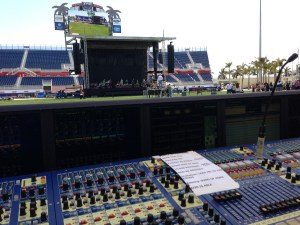 View from FOH