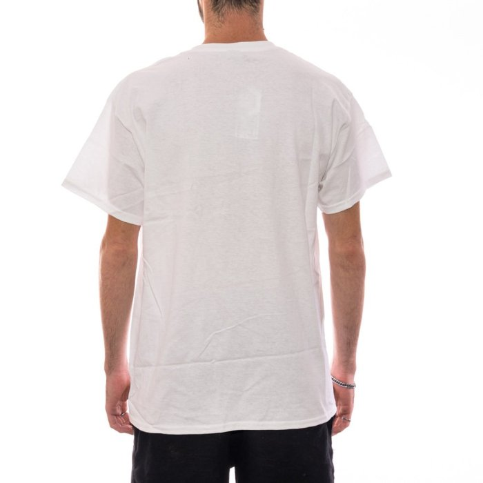THRASHER FLAME LOGO TEE WHITE 2