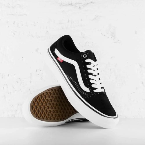 VANS OLD SKOOL PRO BLACK WHITE 2