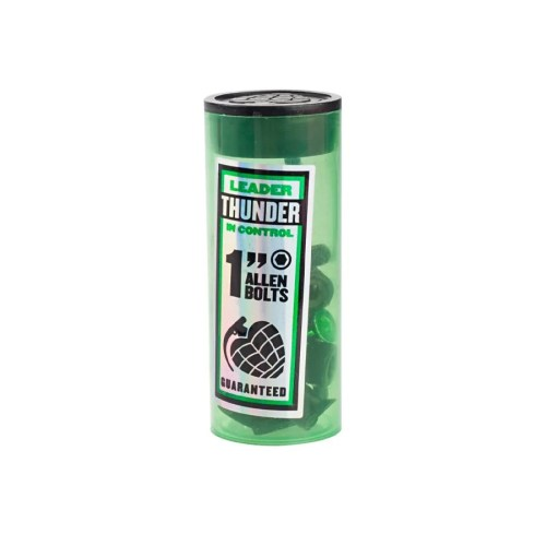 "THUNDER 1"" ALLEN BOLTS BLACK GREEN"