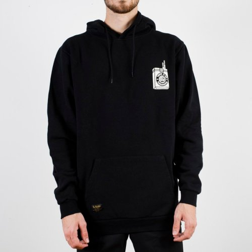 THE DUDES TOO SHORT SMOKES HOODIE BLACK