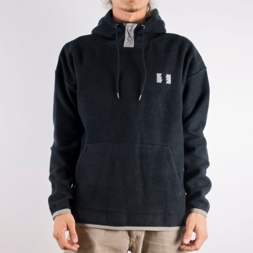THE HUNDREDS SHADEWELL PULLOVER HOODIE BLACK