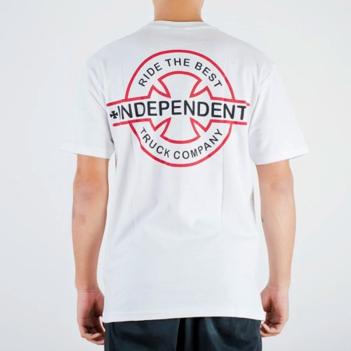INDEPENDENT UNDERGROUND TEE WHITE