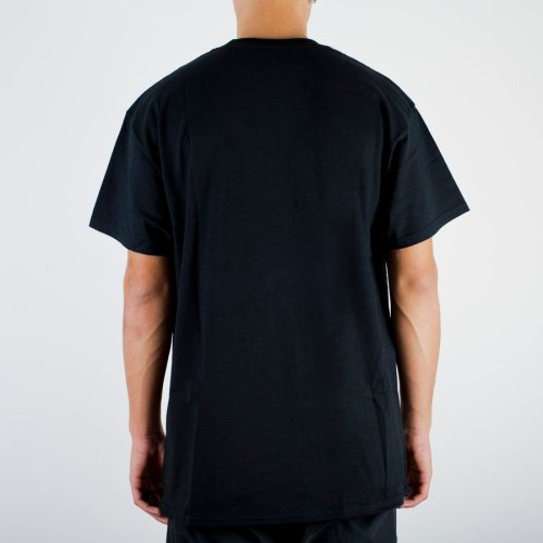 THRASHER BLACK LIGHT S/S TEE BLACK